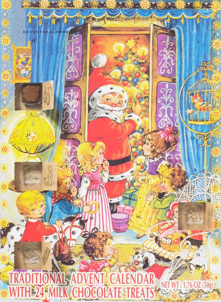 Traditional Chocolate Advent Calendar