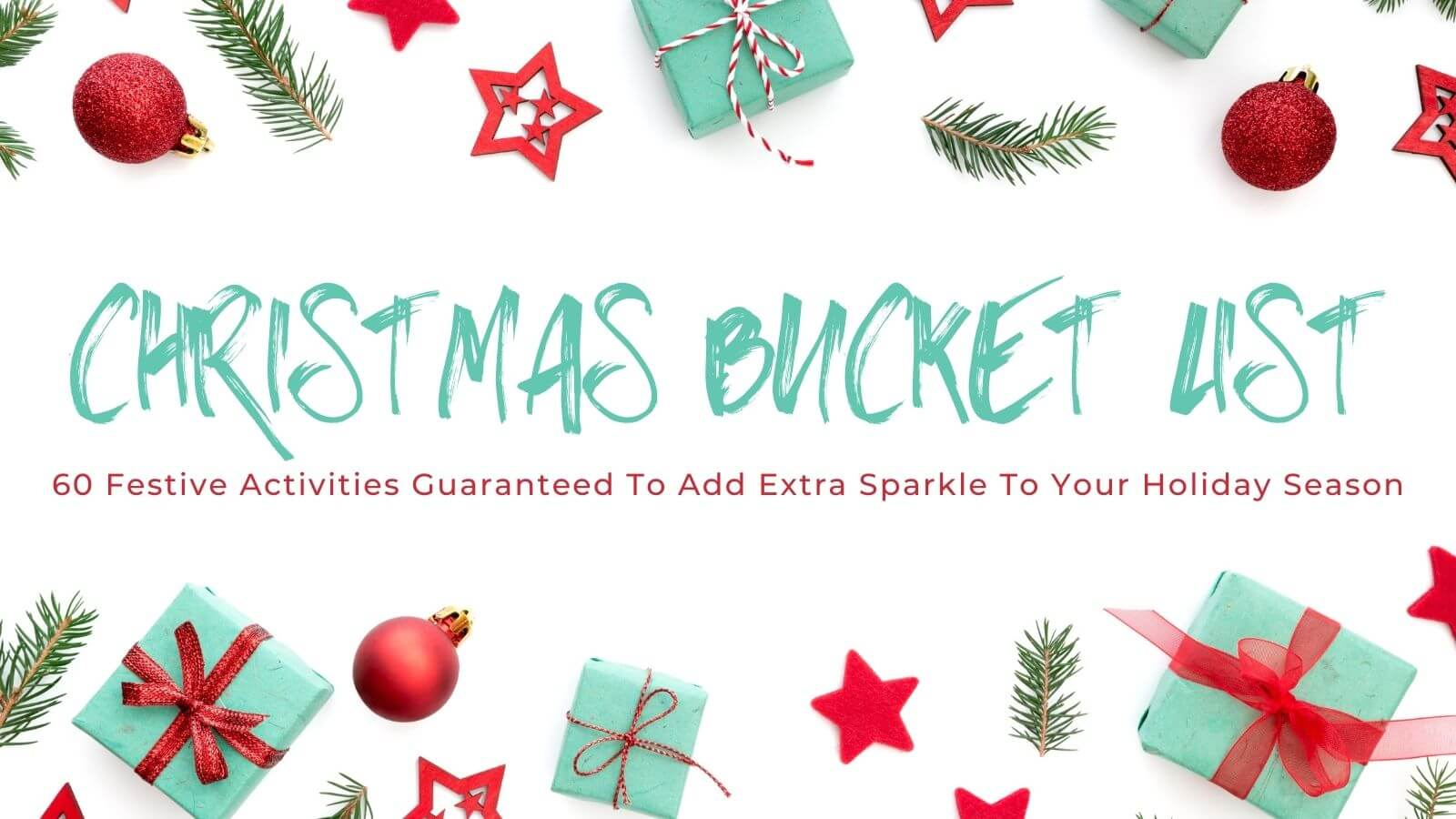 Christmas Bucket List Promo