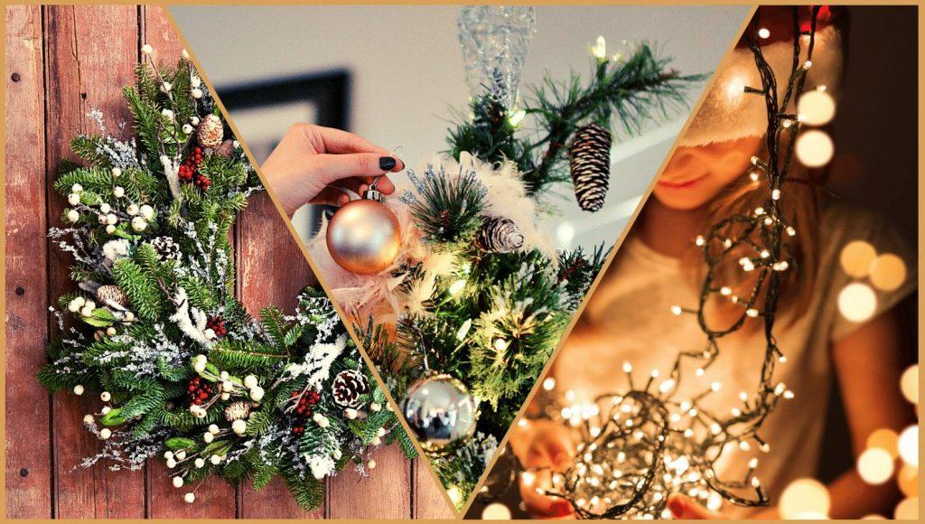 Christmas Decorating Montage