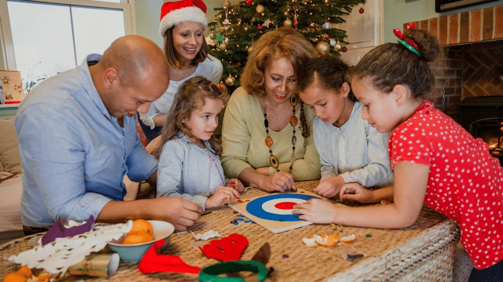 Family Play Christmas Games