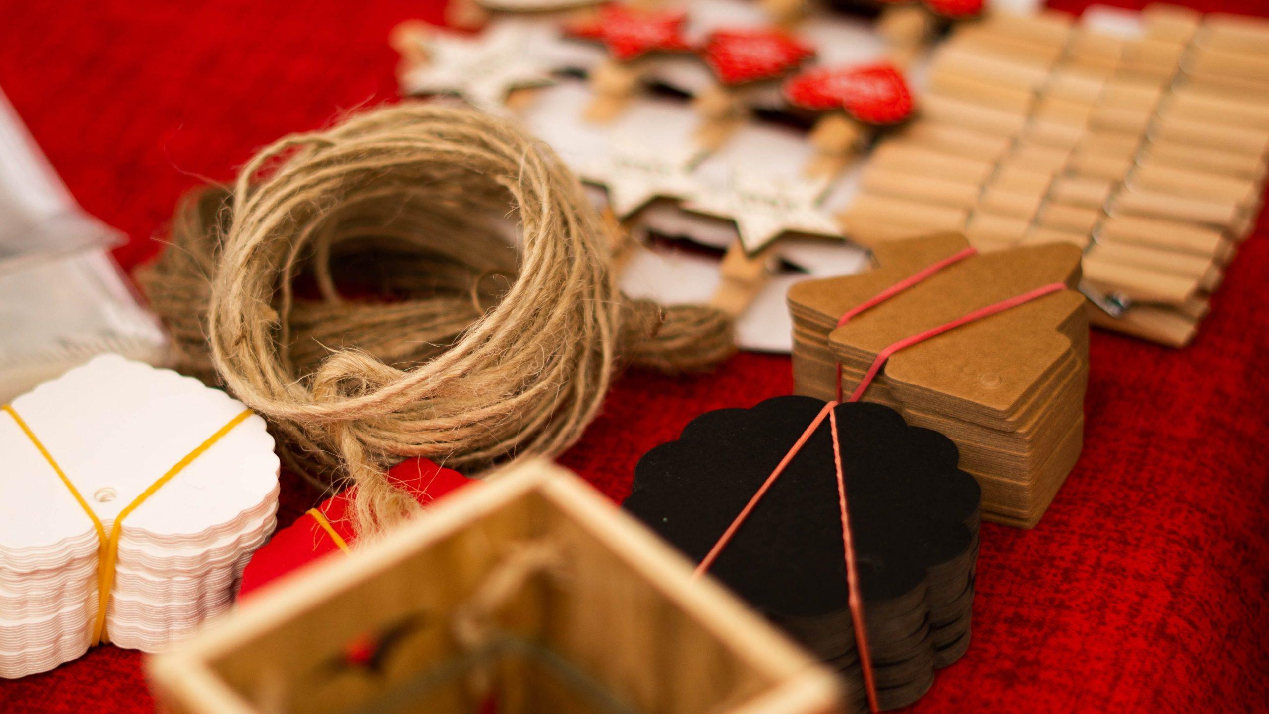 Advent Calendar Crafts Prepared