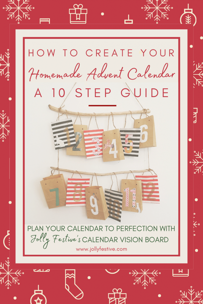 10 Step Guide to Homemade Advent Calendars