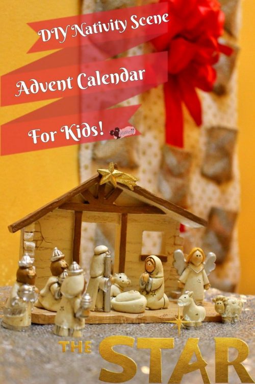 New Mommy Bliss Nativity Advent Calendar