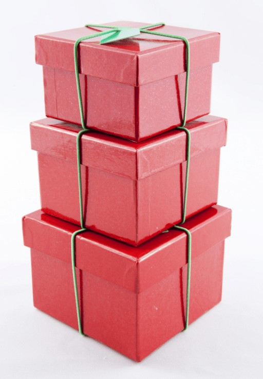 Pile of Christmas Boxes