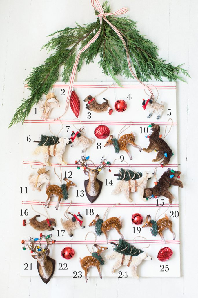 Pottery Barn Ornaments Calendar
