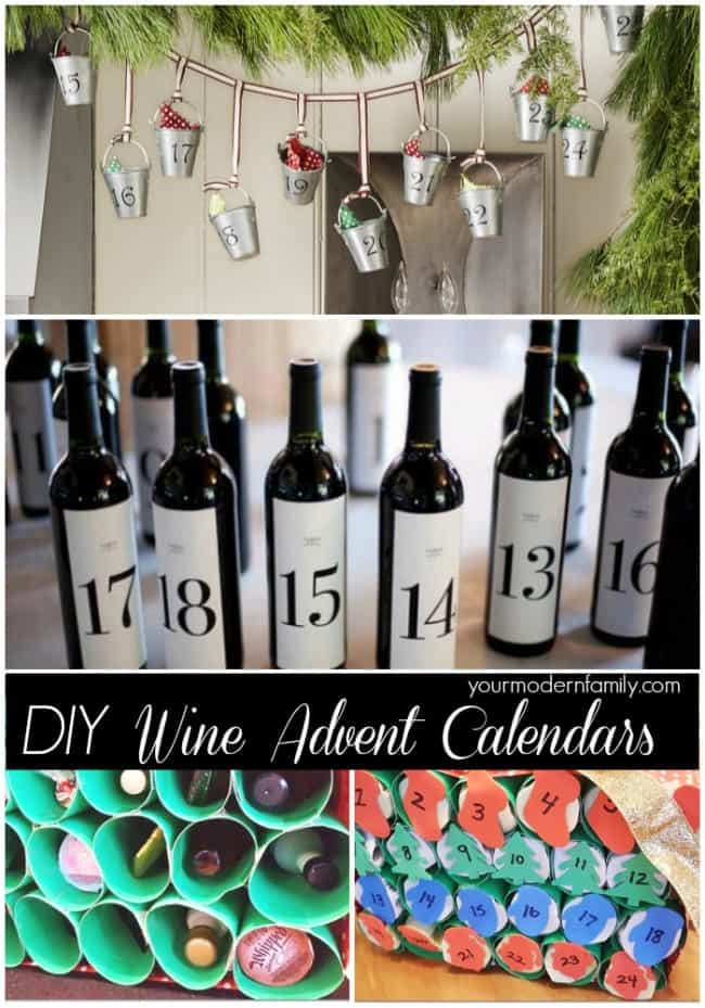 Your Modern Family Wine Calendar