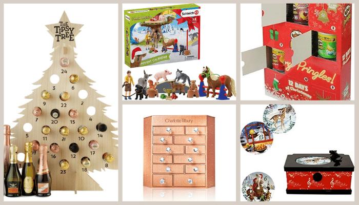 Variety of Store Brand Advent Calendars