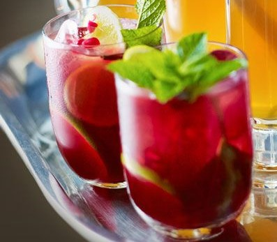 BBC Good Food Pomegranate Mojito Mocktail
