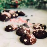 Chocolate Candy Cane Cookies