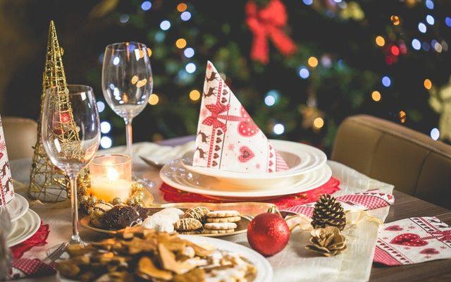 Lavish Christmas Table