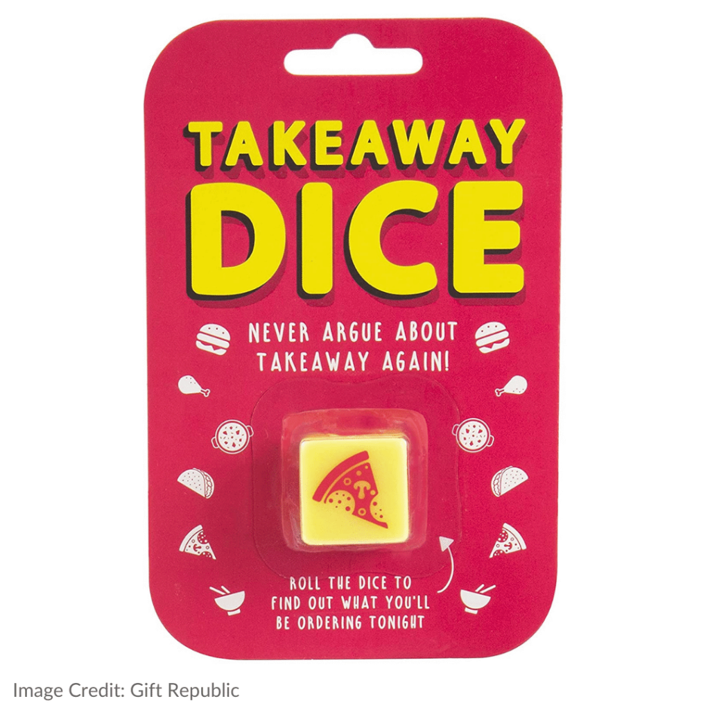 Gift Republic Takeaway Dice