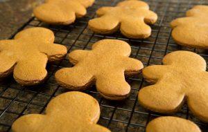 Gingerbread Men On Rack