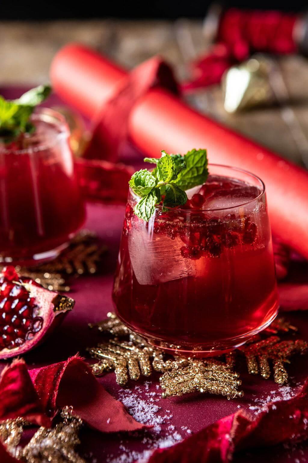 Santa Clause Smash Cocktail