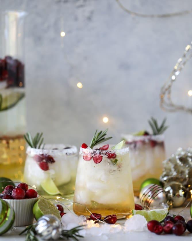 How Sweet Eats Mistletoe Margarita