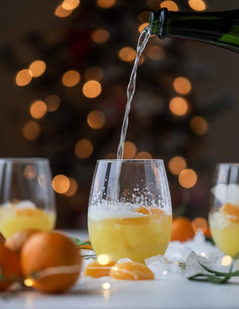 How Sweet Eats Satsuma Fizz Cocktail