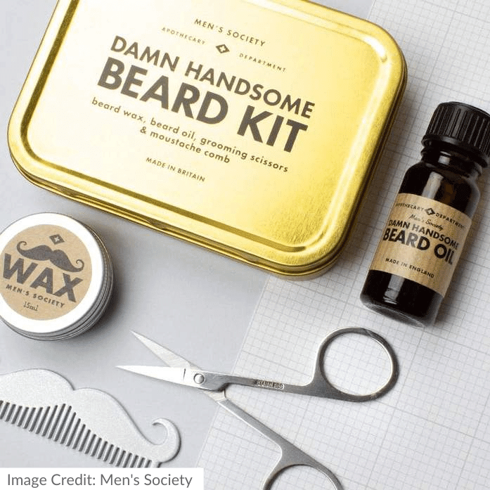 Men's Society Damn Handsome Beard Kit
