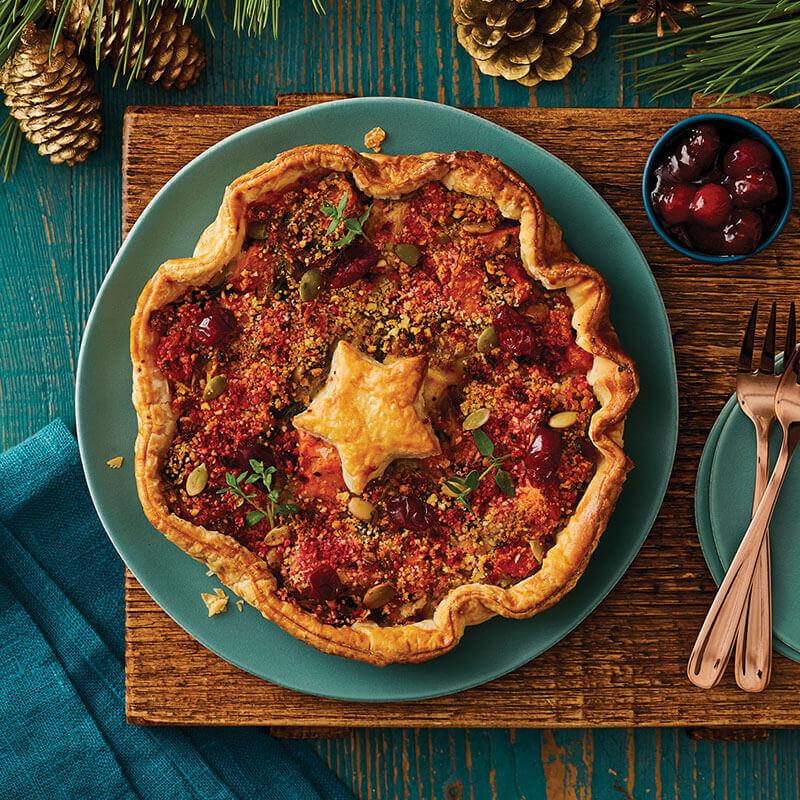 Morrisons The Best Vegan Christmas Star Tarte
