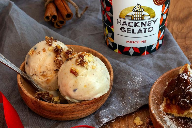 Ocado Mince Pie Hackney Gelato