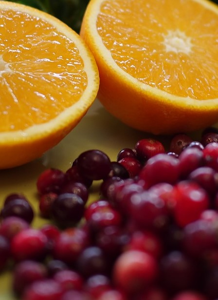 Cranberries & oranges
