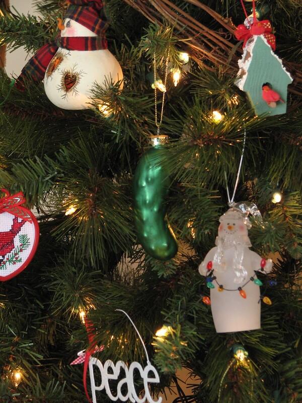 The pickle ornament