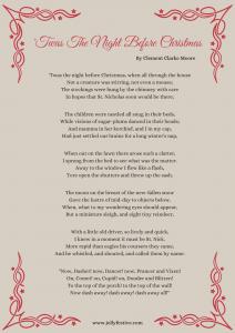 'Twas The Night Before Christmas Printable (1)