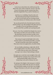 'Twas The Night Before Christmas Printable (2)