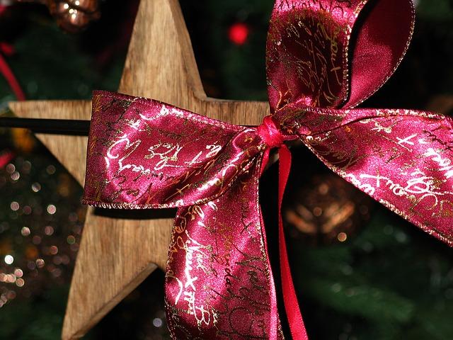 Homemade Christmas Star