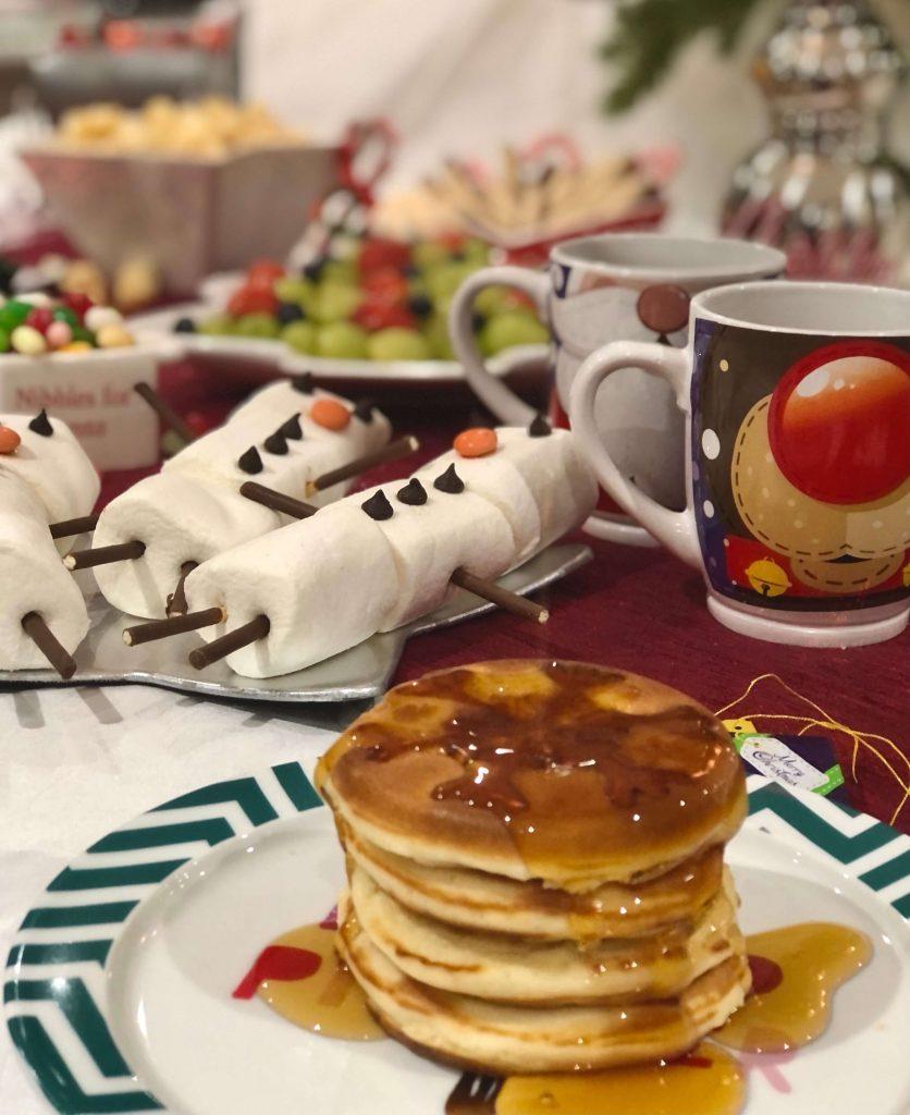 North Pole Breakfast Display