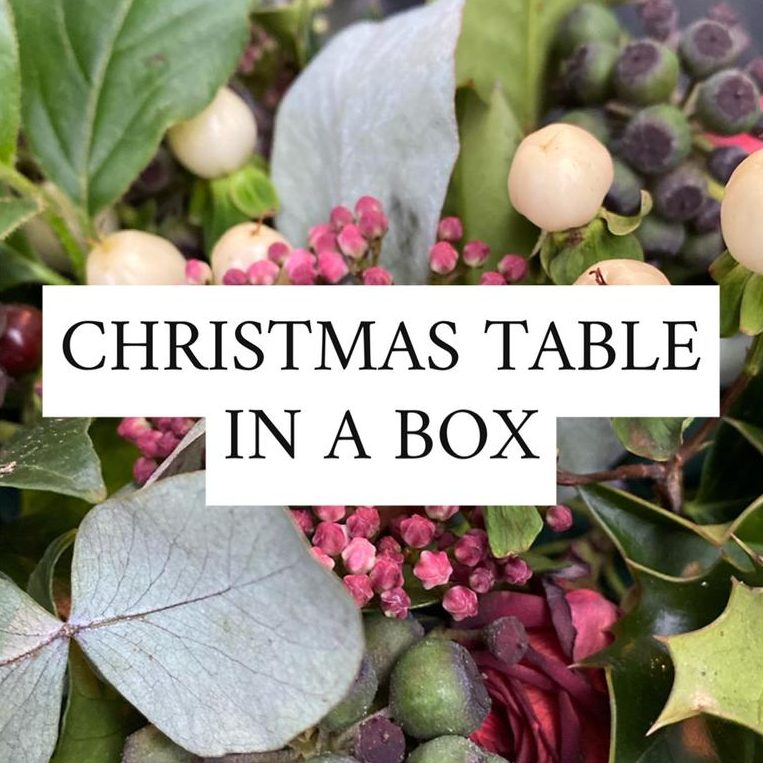 Christmas Table In A Box