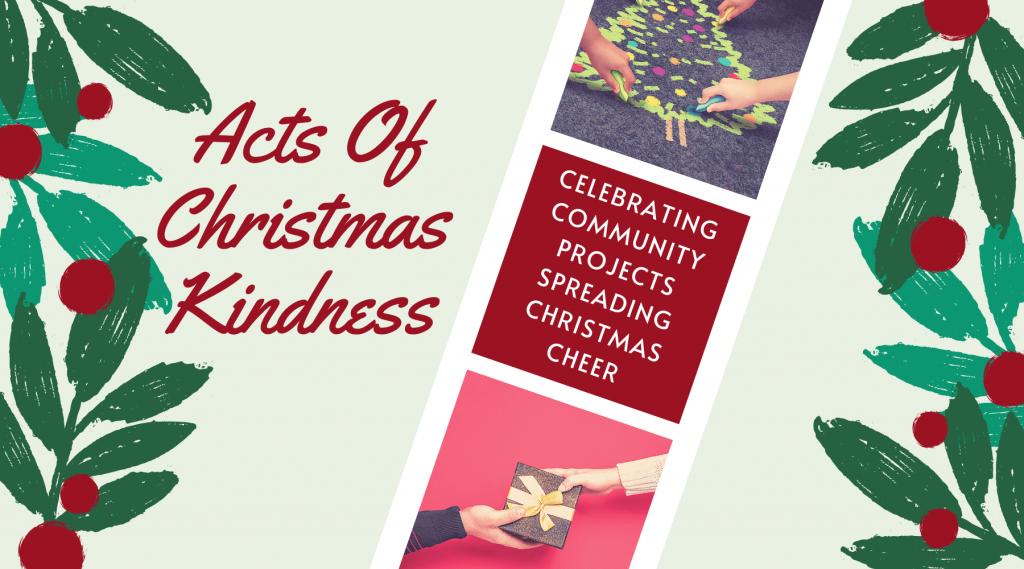 Acts of Christmas Kindness Horizontal