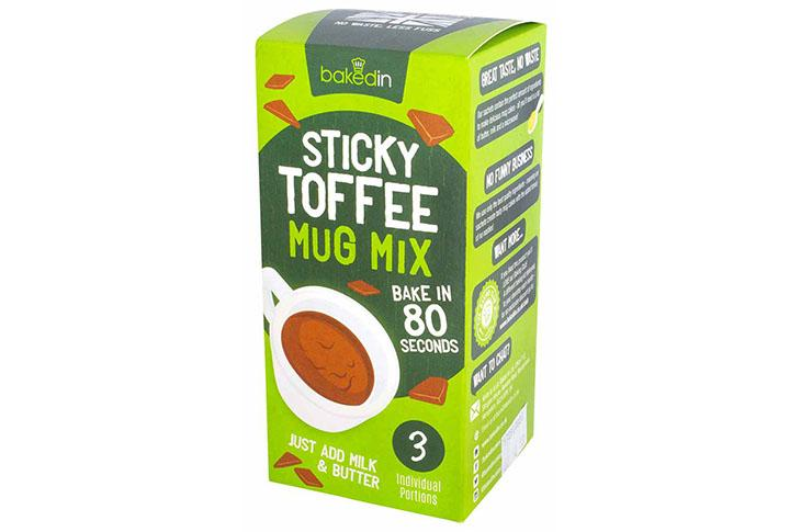 Baked In Sticky Toffee Mug Mix