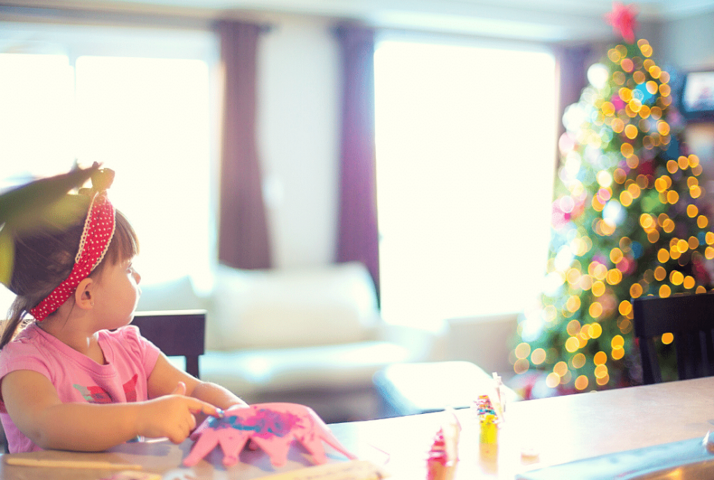 Christmas Crafts with Toddlers