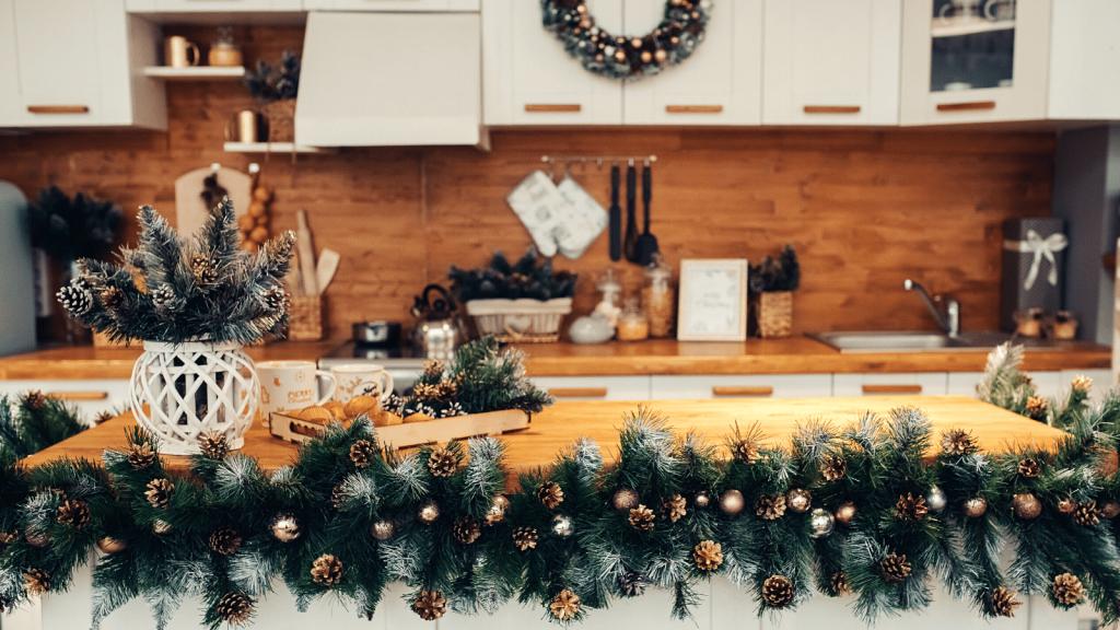 Kitchen at Christmas