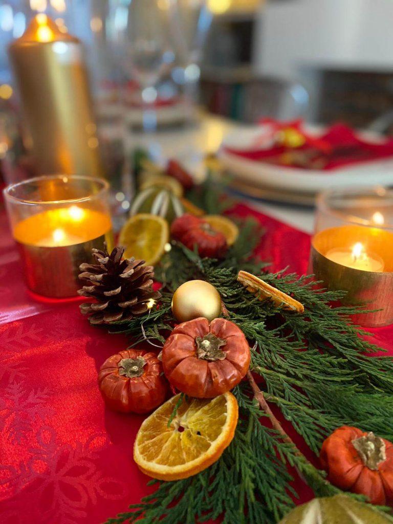 Christmas Table Decor - The Traditional