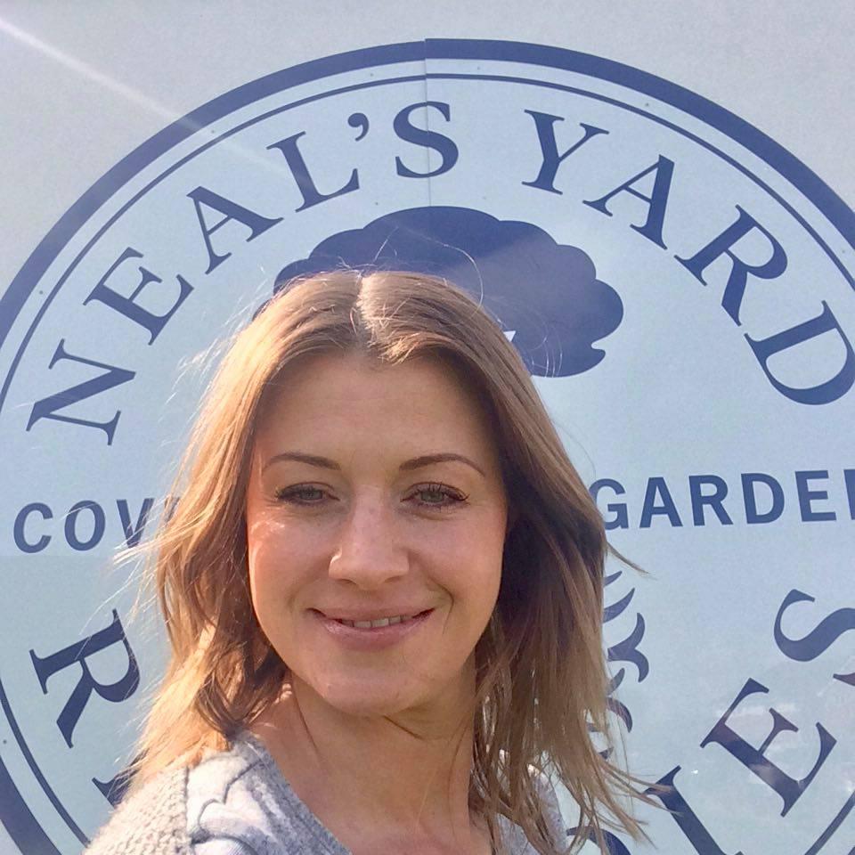 Cressy Chandler at Neal's Yard Remedies