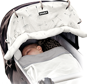 Dooky Universal Stroller Shade