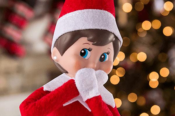 Elf On The Shelf Shocked Elf