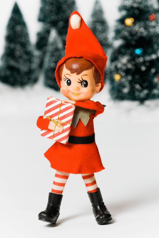 Alternative Girl Elf In The Snow
