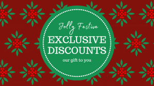 Exclusive discounts Header