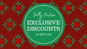 Exclusive discounts Header