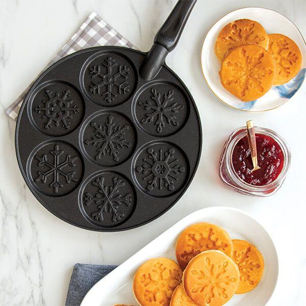 Harts of Stur Disney Frozen by Nordic Ware Snowflake Pancake Pan