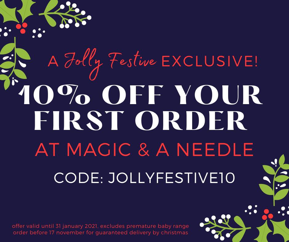 JF Magic & A Needle Discount