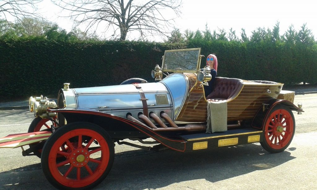 Philippa In the Chitty Car