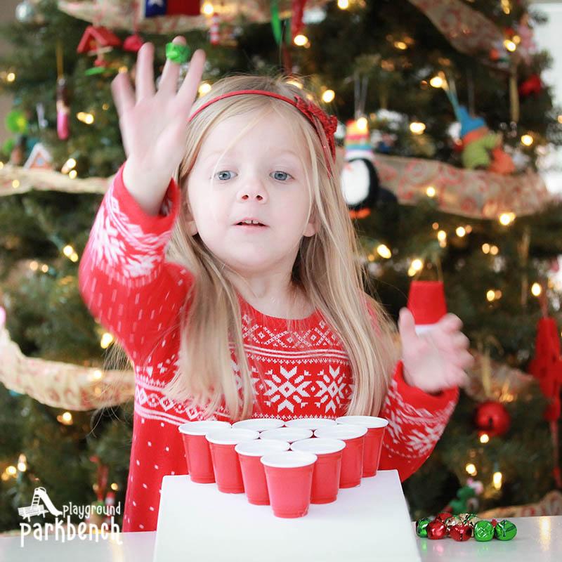 Playground Park Bench Jingle Bell Toss