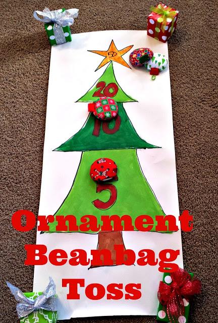 Positively Splendid Ornament Bean Bag Toss