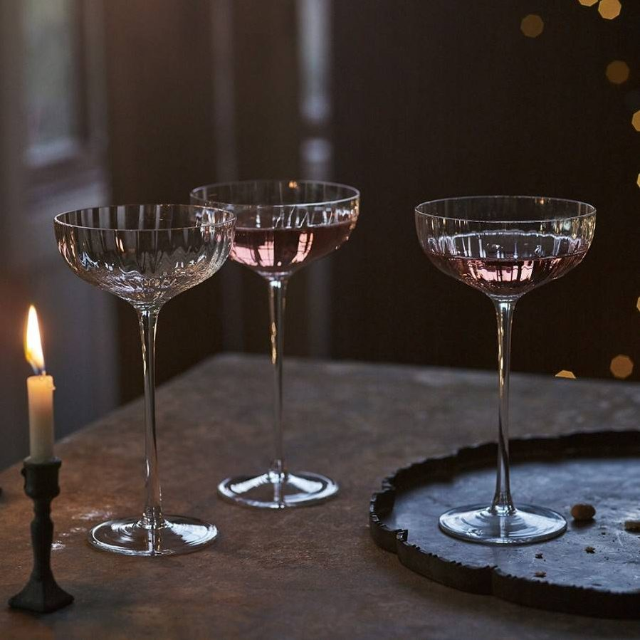 Rowen & Wren Isla Fluted Champagne Coupe