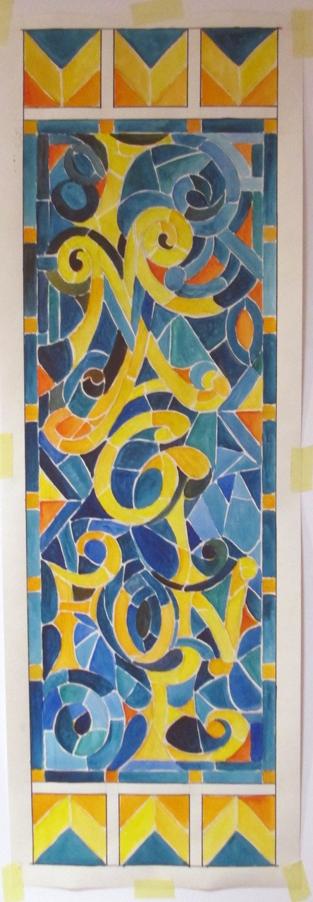 Stain Glass Panels Options