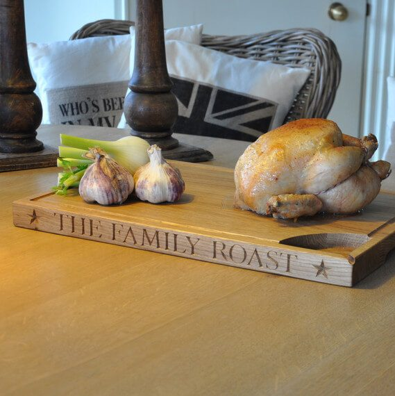 The Oak & Rope Company Carving Board