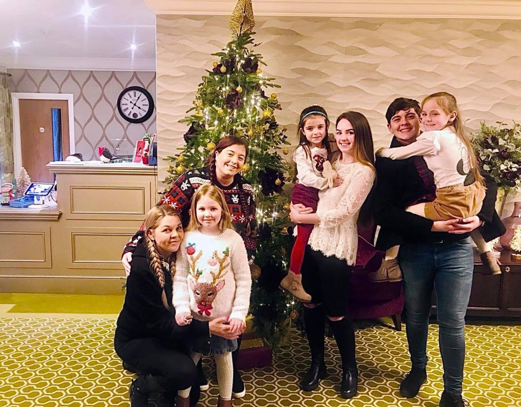 The Pay It Forward Team elves at Shinfield View Care Home