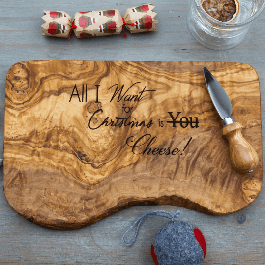 The Rustic Dish All I Want For Christmas Is Board